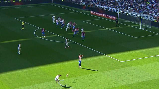 pepe marc el gol del real madrid en fuera de juego