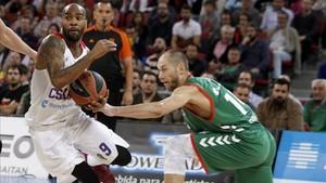 El Baskonia no pudo evitar la clasificación del CSKA para la Final Four