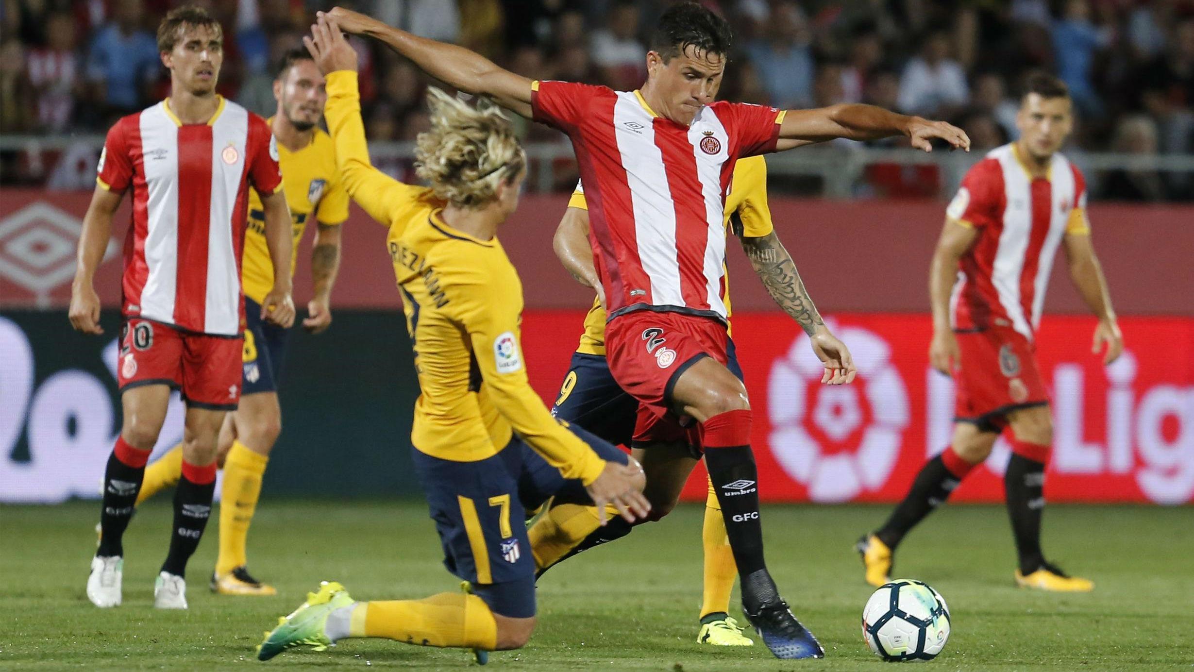 Vídeo resumen: Girona - Atlético (2-2). Jornada 1, Liga Santander 17/18