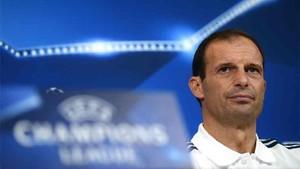 Allegri, entrenador de la Juventus