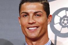 Cristiano Ronaldo, premiado el pasado lunes por la LFP