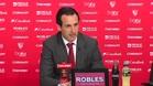 """Emery: """"Lo importante es poder seguir jugando contra el Barcelona, quiere decir que est�s ah�"""""""