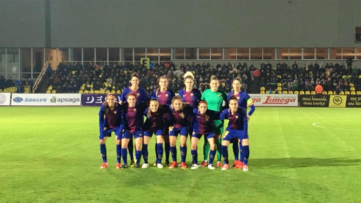 Gintra - FC Barcelona (0-6)