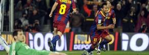 Jeffren marcó el último gol de la 'Manita' del 29 de noviembre de 2010, en el estreno de Mourinho como entrenador del Real Madrid en el Camp Nou