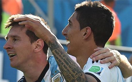 Di Mar�a, mejor que Messi en 2014 seg�n el C�rculo de Periodistas Deportivos