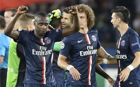 Matuidi marc� el tercer gol del PSG contra el Bar�a