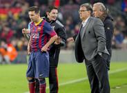 Messi y el Tata, en una imagen de archivo