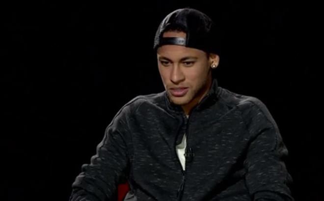 Neymar, en el programa 'La hora B' de Bar�aTV