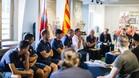 El Barça evangeliza con su modelo en Nueva York