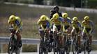 El Tinkoff de Alberto Contador ser� el �ltimo en tomar la salida en la contrarreloj por equipos