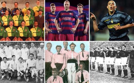 United, Barcelona, Inter, Brasil, Juventus o Espa�a y sus cambios hist�ricos