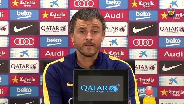 Luis Enrique: ¿Messi? Nunca me ha gustado arriesgar