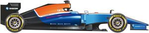 El coche del equipo Manor para el Mundial 2016 de F1