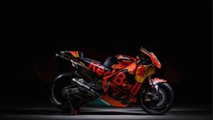 La nueva MotoGP de KTM patrocinada por Red Bull
