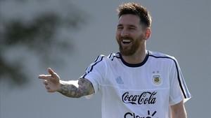Iván Zamorano es un admirador de Leo Messi