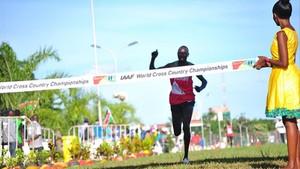 Geoffrey Kamworor revalidó su título de campeón del mundo de cross