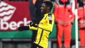 Dembélé, con 19 años, es el sexto jugador que más intenta regatear de toda Europa