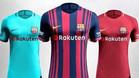 Estas serán las camisetas del FC Barcelona 2017-18