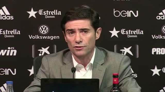 Marcelino habló de los cambios que habrá en la plantilla del Valencia