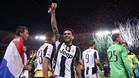 Dani Alves dice estar muy agradecido a la afición de la Juventus