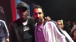 Dos leyendas del deporte