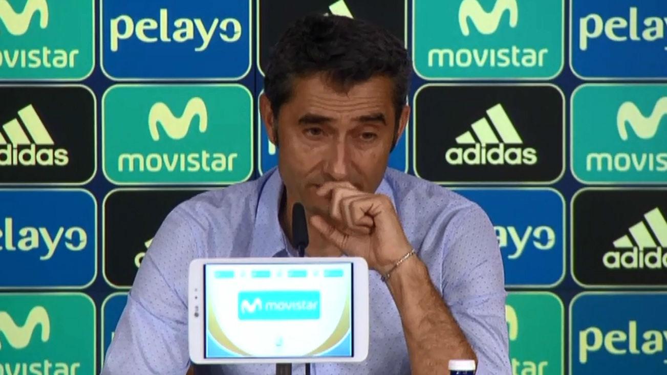 Valverde: ¿Nos tenemos que recuperar de esta derrota¿