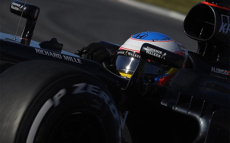 Alonso sigue progresando con su McLaren