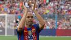 Iniesta cumplir� 600 partidos con el Barcelona