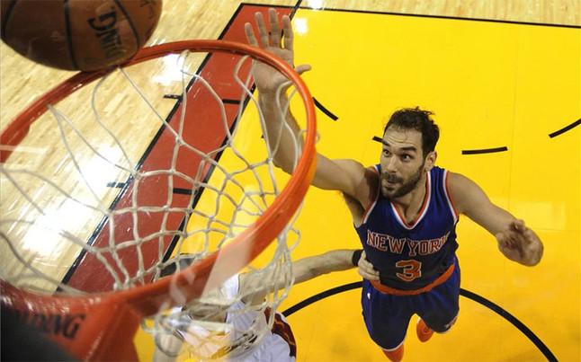 Los Knicks de Calder�n se imponen a los Heat y se colocan terceros
