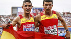 Fifa y Mechaal compartieron podio en Amsterdam