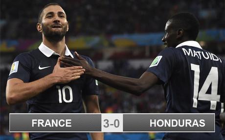 France 3-0 Honduras