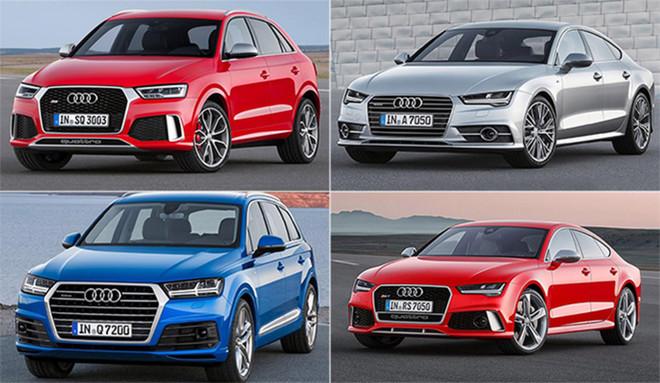 Los cuatro Audi que han elegido los jugadores del Bar�a