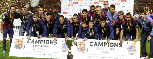 Masip le da la Supercopa al Bar�a