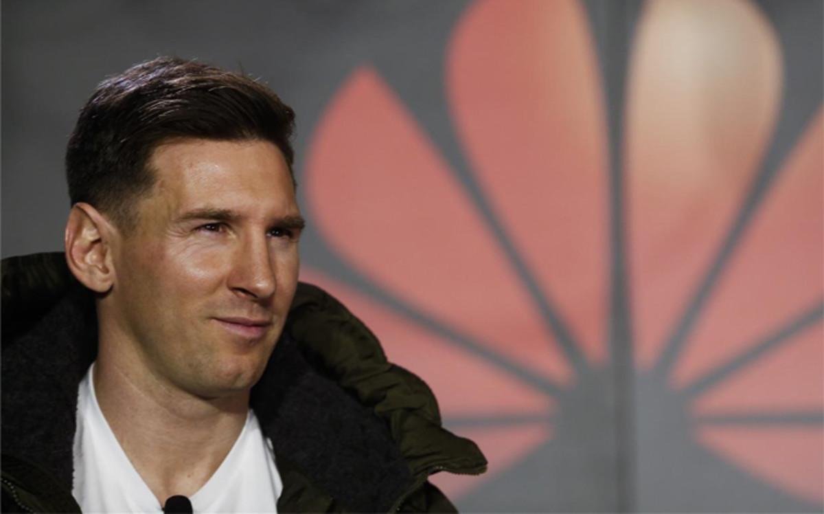 """Messi: """"Ir a los Juegos Ol�mpicos no depende de mi"""""""