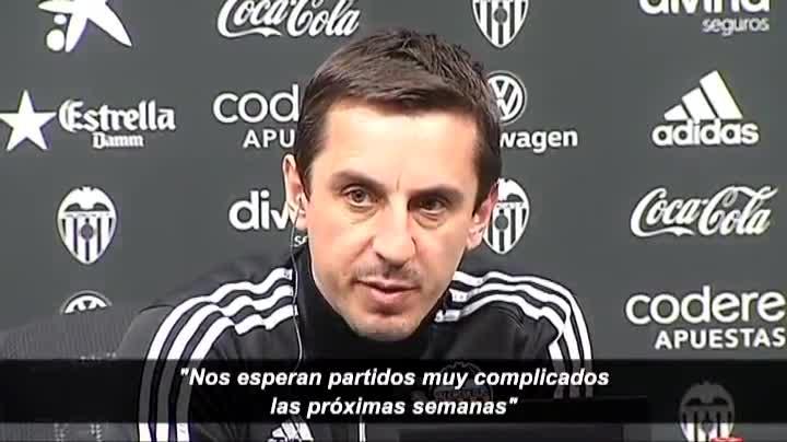 """Neville: """"Es el momento de mantener la calma"""""""