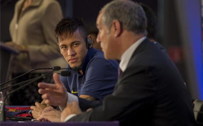 """""""Neymar est� muy, muy, muy contento en el Bar�a"""""""