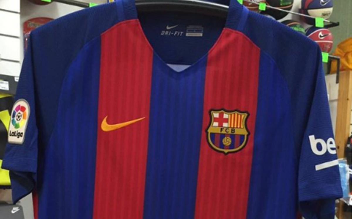 La Camiseta Del FC Barcelona 2016-2017 Ya Está En Las Tiendas