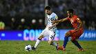 Leo Messi mete a Argentina en la zona de clasificación de penalti