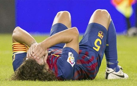 Puyol tendr� que someterse a una artroscopia