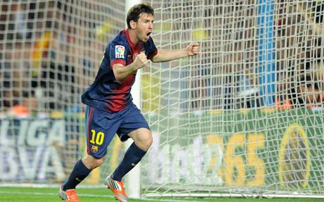 Messi volvió a brillar en el Camp Nou