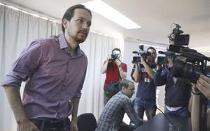 Pablo Iglesias, líder de la formación política Podemos