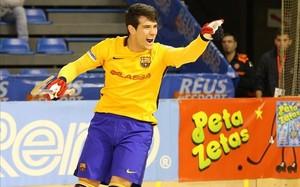Pablo Álvarez ha abierto la goleada del Barça ante el Igualada