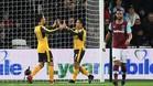 Alexis y Özil se exhibieron el pasado sábado ante el West Ham
