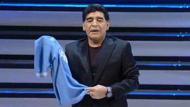 Maradona revive los recuerdos del primer `Scudetto¿ del Nápoles