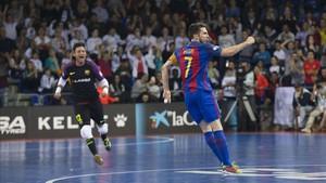 Con cuatro goles, Dyego volvió a demostrar lo gran jugador que es