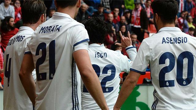 Video resumen del Sporting de Gijón - Real Madrid (2-3)