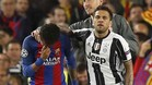 Dani Alves consoló a Neymar