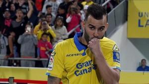 Jesé, en el día de su presentación en el Estadio Gran Canaria