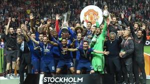El Manchester United, campeón de la Europa League 2016 - 2017