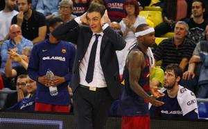 Georgios Bartzokas ha vivido un año repleto de obstáculos en el Barça